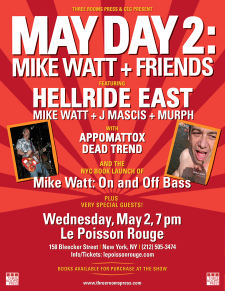 May Day 2: Mike Watt NYC Book Launch