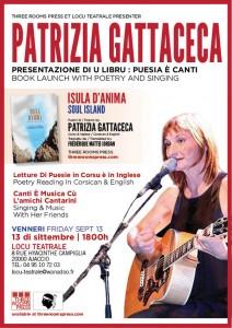 Patrizia Gattaceca to make rare Ajaccio performance Sept 13 at Locu Teatrale
