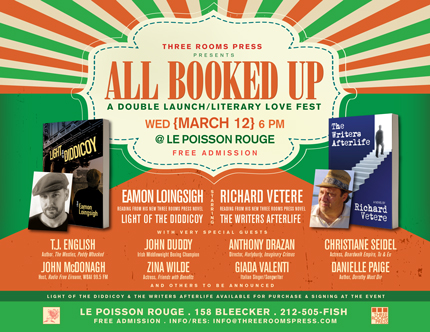 All Booked Up: Dual Book Launch and Literary Love Fest