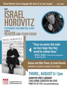 080615-Horovitz-Reading-SawyerFreeLibrary-flyer-v1