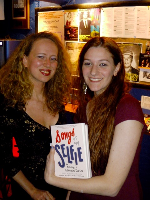 Author Tara Isabella Burton with editor Constance Renfrow