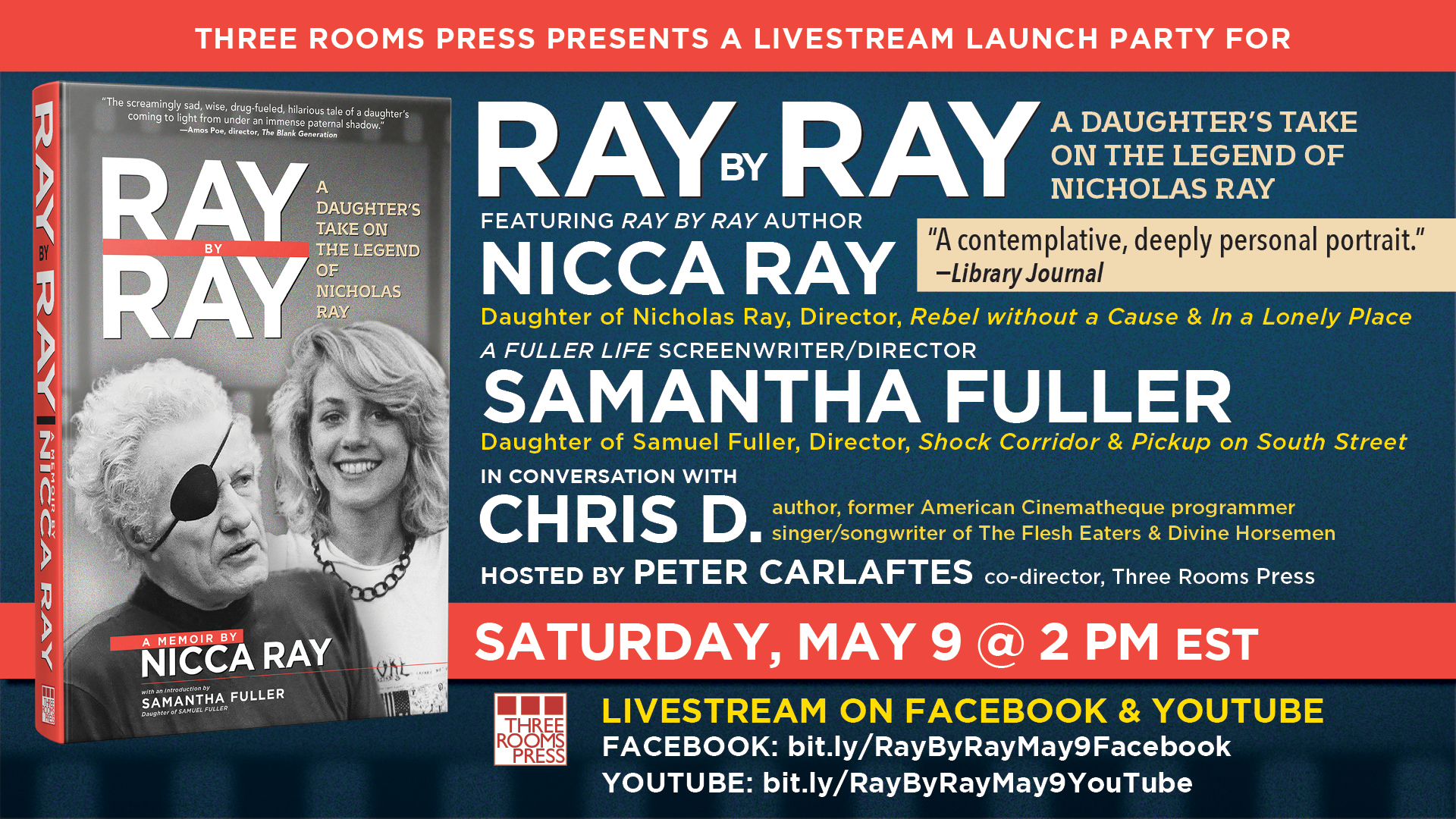Special RAY BY RAY Book Launch