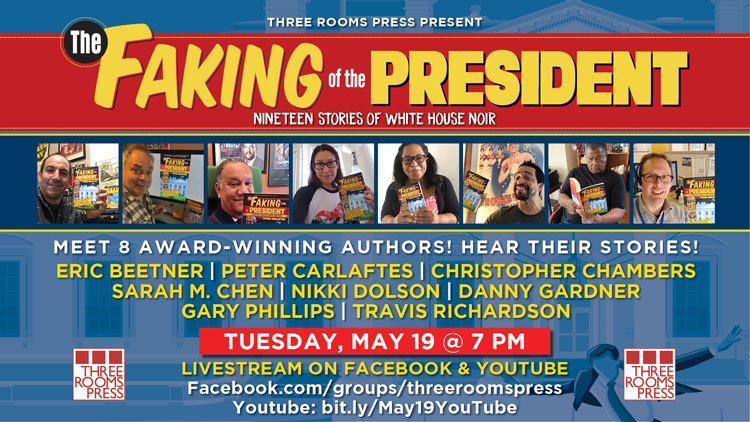 West Coast Launch for The Faking of the President