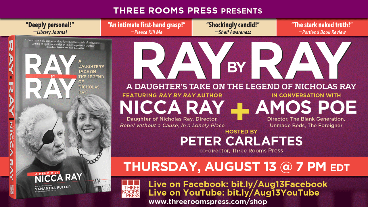An Evening with Nicca Ray in Conversation with Amos Poe